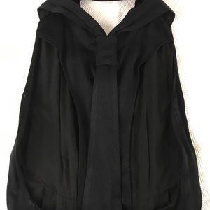 Sechung Dresses - Sechung Black T-Back Button-Down Maxi Dress